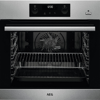 AEG SteamBake - Oven with Pyrolytic Cleaning BPK355020M