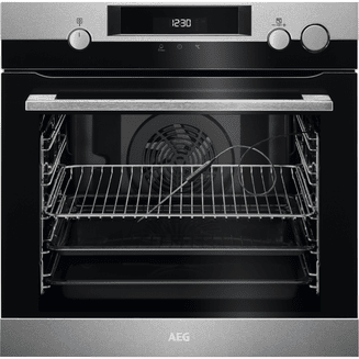 AEG SteamCrisp Steam Oven With Pyrolytic Cleaning BSK577221M
