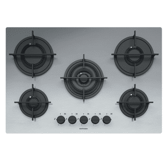Barazza 75 cm Mood built-in hob Stainless Steel 1PMD75