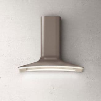Elica DOLCE wall mount extractor in UMBER
