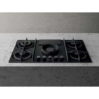 Elica NIKOLATESLA FLAME Black Duct out 88cm Air Venting Gas