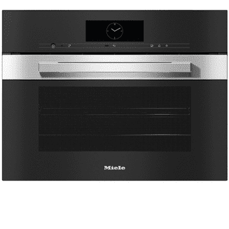 MIELE DGC7845 XL Combination steam oven with mains water and drain connection for steam cooking