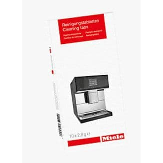 MIELE GPCLCX0102 T Cleaning tablets 10 tabs for cleaning coffee machines