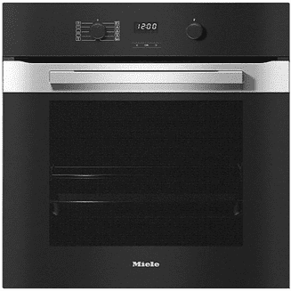 MIELE H2860 B Built-in Oven with a timer, XL oven compartment & PerfectClean