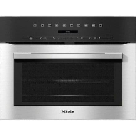 MIELE H7140BM Compact microwave combination oven with automatic programs