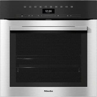 MIELE H7364BP Oven attractive stainless steel design with food probe and LED lighting