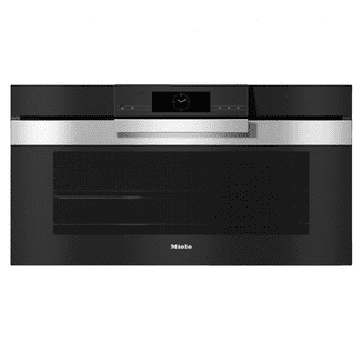 MIELE H7890 BP 90 cm wide oven seamless design with food probe and BrilliantLight.
