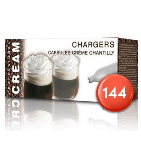 144 Cream Chargers