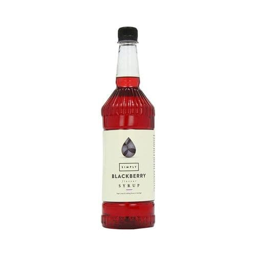 Blackberry Simply 1L Syrups