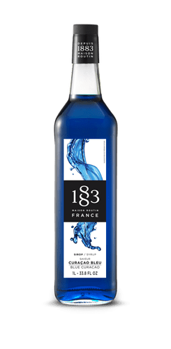 Blue Curacao 1883 Maison Routin 1L Syrup