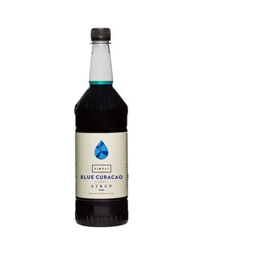 Blue Curacao Simply 1L Syrups