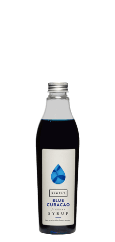 Blue Curacao Simply 25CL Syrups