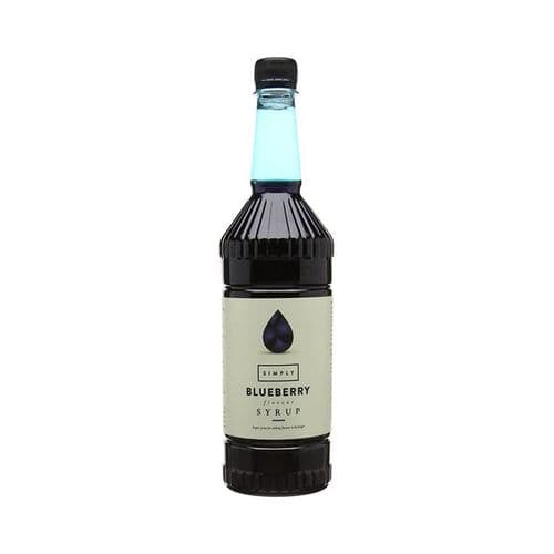 Blueberry Simply 1L Syrups