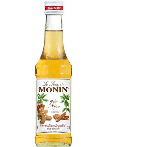 Gingerbread Monin 25cl Syrup