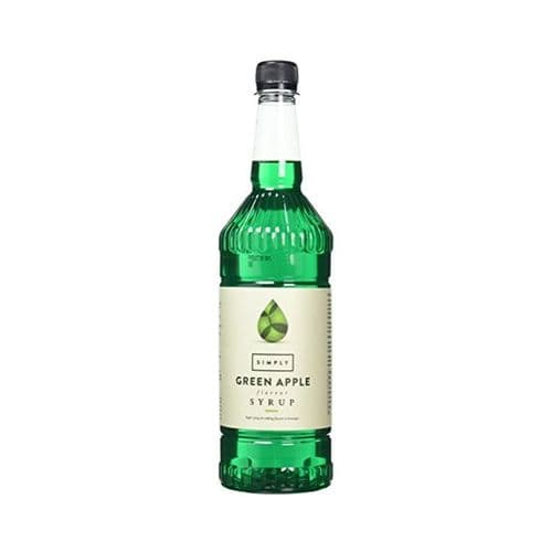 Green Apple Simply 1L Syrups