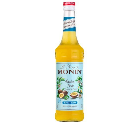 Passion Fruit Reduced Sugar Monin 70cl Syrup