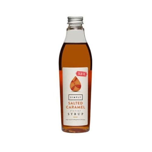 Salted Caramel Simply 25CL Sugar Free Syrups