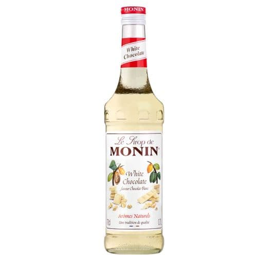 White Chocolate Monin 70cl Syrup