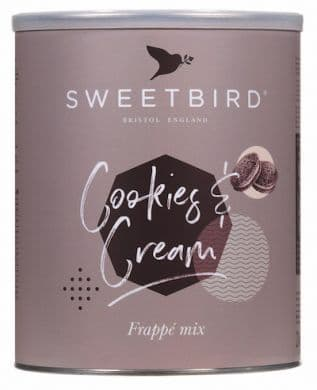Cookies and Cream Sweetbird 2kg Frappe Mix