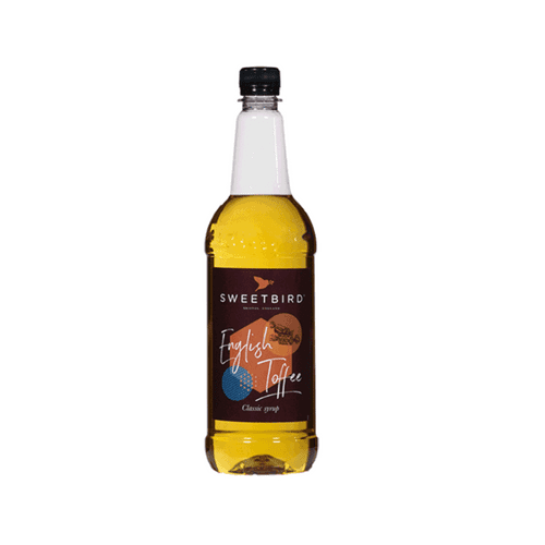 English Toffee Sweetbird 1L Syrup