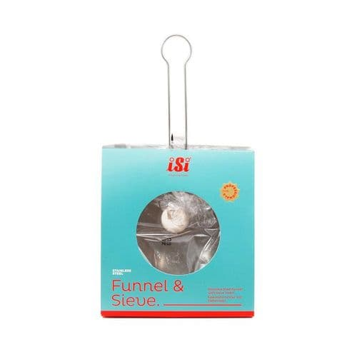 iSi Stainless Steel Funnel & Sieve