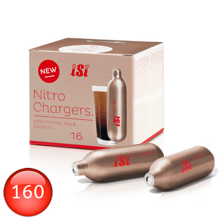 iSi 2.4g Nitro Chargers 160 Pack