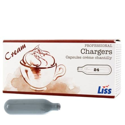 Liss Cream Chargers 240 Pack