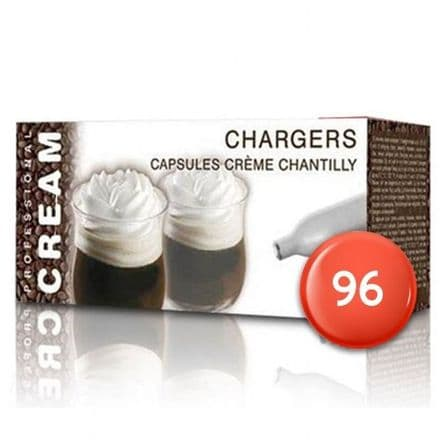 Liss Cream Chargers 96 Pack