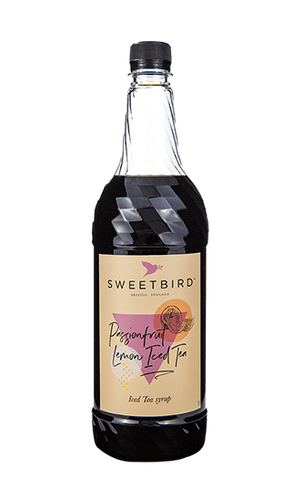 Passionfruit Lemon Sweetbird 1L Iced Tea Syrup