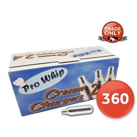 Pro Whip Cream Chargers 360 Pack