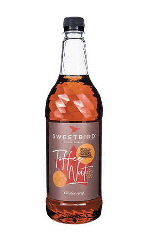 Toffee Nut Sweetbird 1L Syrup