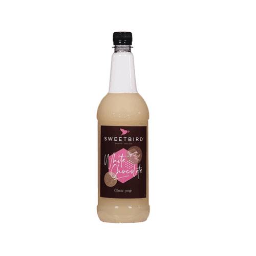 White Chocolate Sweetbird 1L Syrup