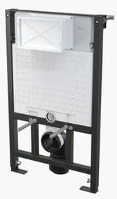 Alca Plast Wall Mounted Wc Frame 0.85M installation system inc Flush Plate A101/850M371