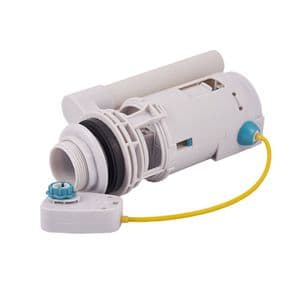 Bathstore Savoy  Lever Cistern Flush Valve  Inducing Yellow Cable and Lever Block 90000008200