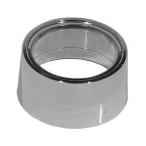 Saneux Chrome 30mm Spacer Collar for Basins without Overflows AC100