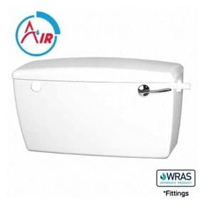 Wirquin Macdee Rhino Exposed Low Level Side Entry Cistern CCR41WH